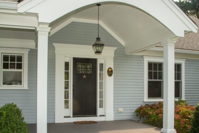 New Home Exterior Front Door