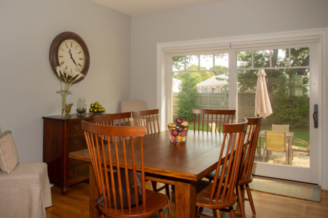 New Home Dining area