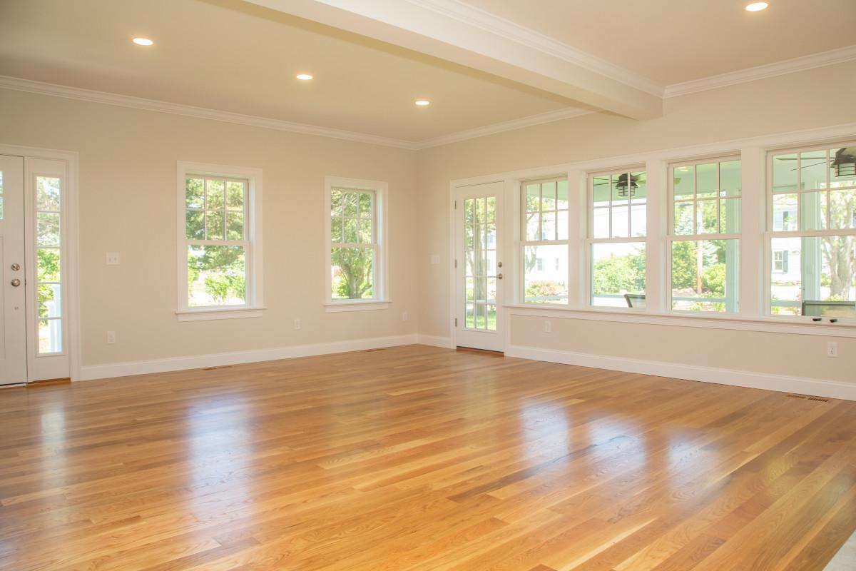 New Home Interior Wooden Floor