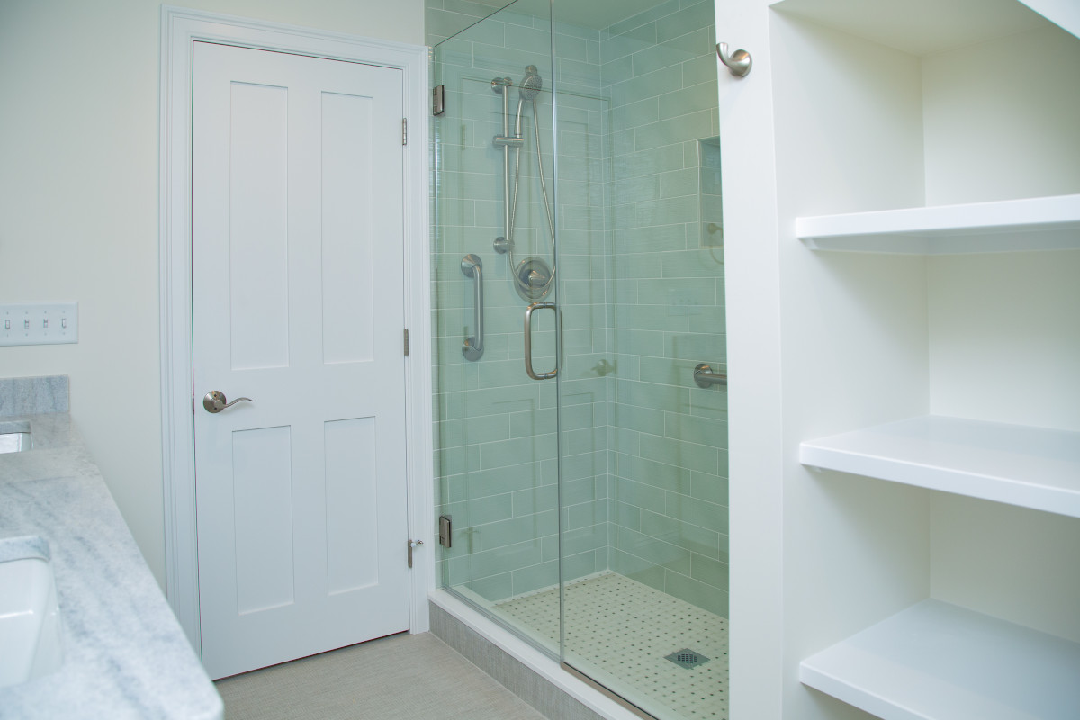 New Bathroom with walkin shower