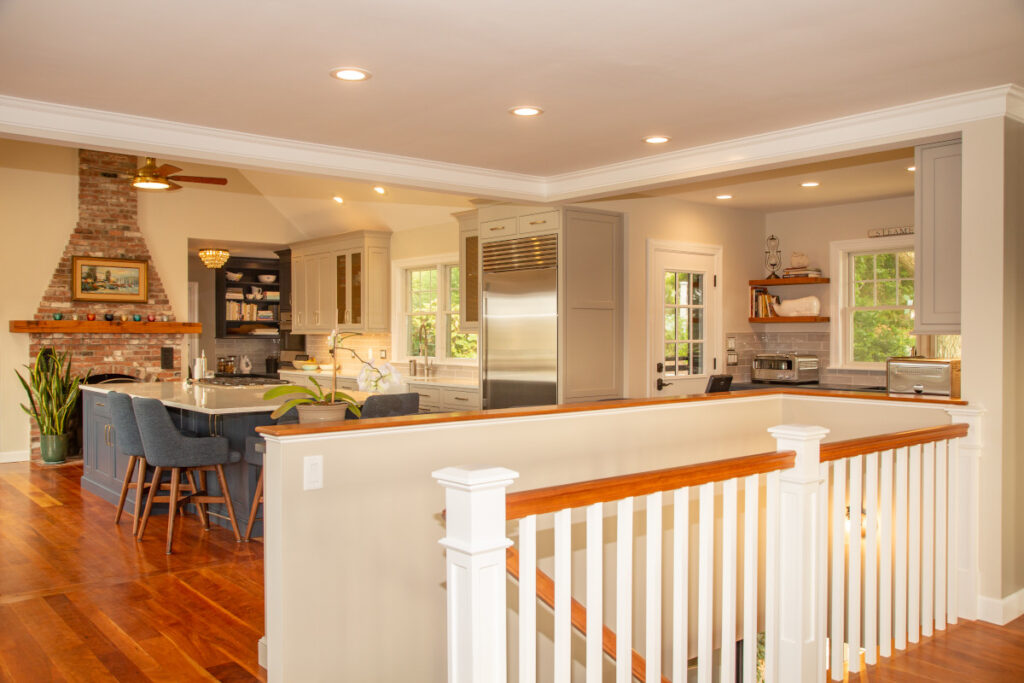 New Kitchen on Cape Cod, Open Floor Plan