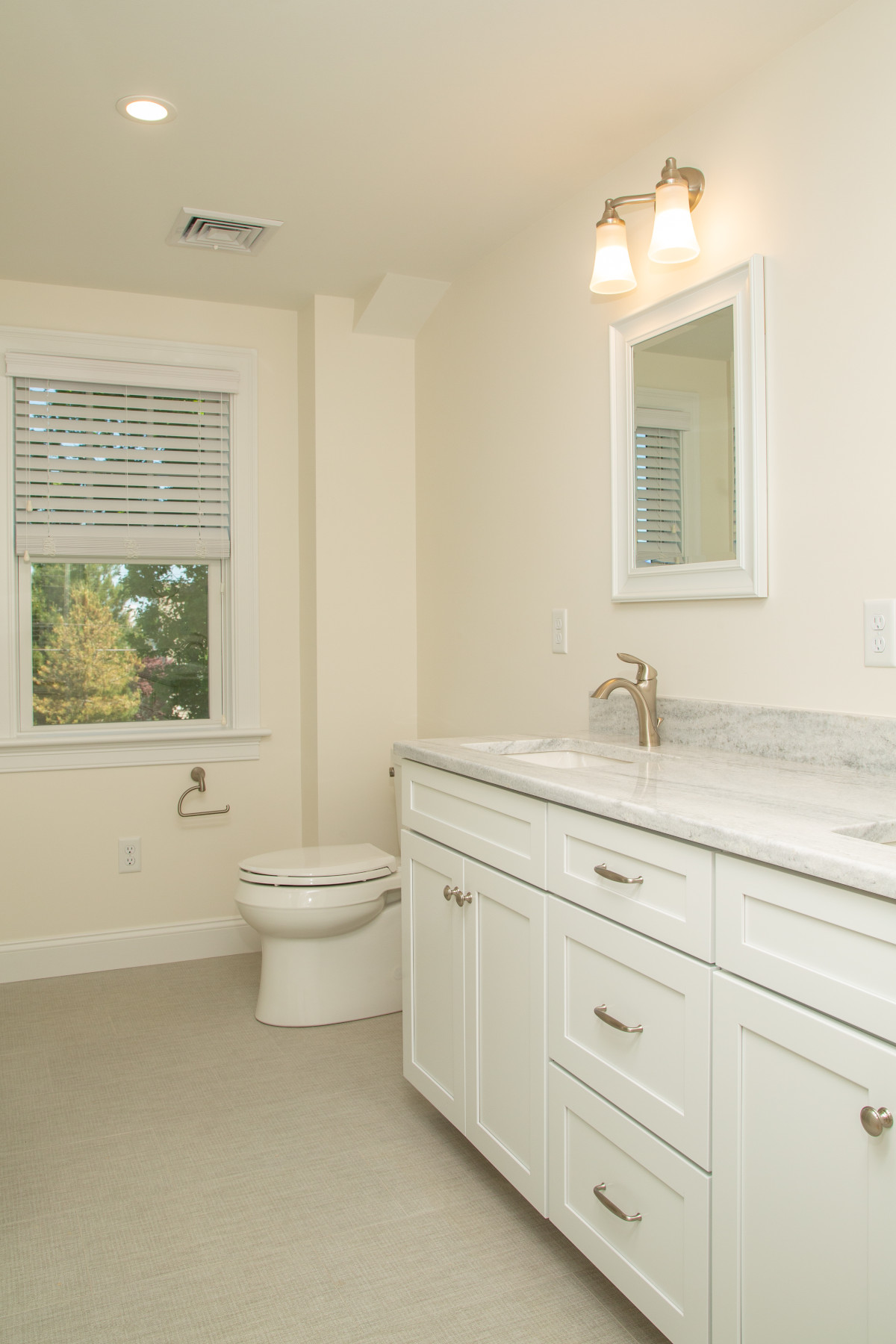 View of guest bathroom in new home