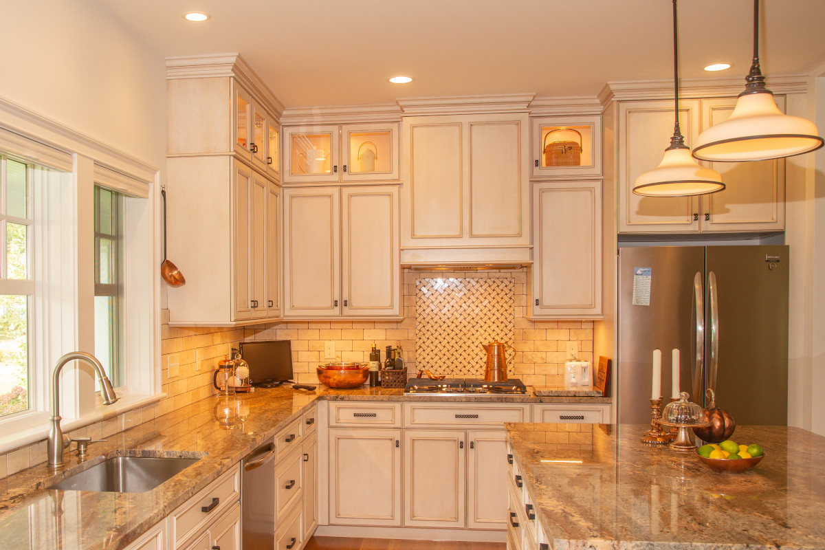 Kitchen of new home in Centerville