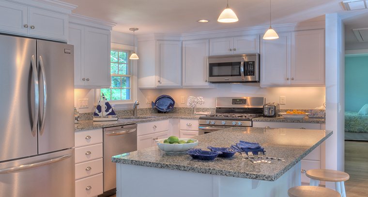 Finished kitchen remodel; light, bright and open